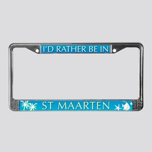 St Maarten License Plate Frame